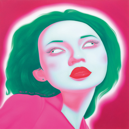 Feng Zhengjie, 'Chinese Portrait G Series 2007 No. 16,' 2007, Phillips: 20th Century and Contemporary Art Day Sale (February 2017)
