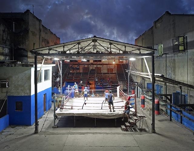 , 'Gimnasio de Boxeo, Havana, Cuba,' 2014, Galerie de Bellefeuille