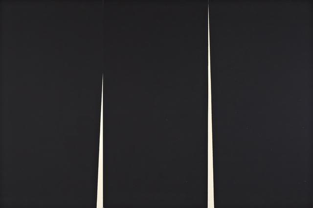 , 'Double Rift I,' 2012, Galería La Caja Negra