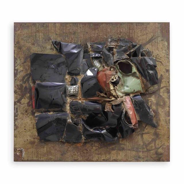 , 'Relief tôle klaxon,' 1962, GALERIE GEORGES-PHILIPPE ET NATHALIE VALLOIS