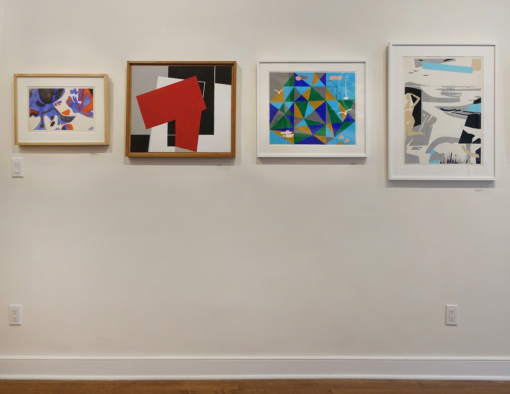"Installation view: ""George Vranesh: Kaleidoscopic Modernism"""
