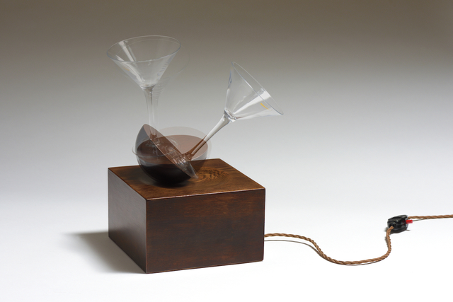 , 'Wobbling Martini,' 2017, Cob