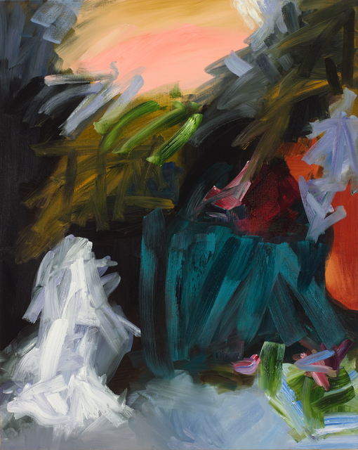 Elise Ansel, 'Revelations VII', 2015, Painting, Oil on linen, Bowdoin College Museum of Art