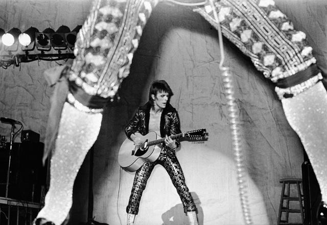 , 'Bowie, Between Ronson Legs, USA,' 1972, TASCHEN