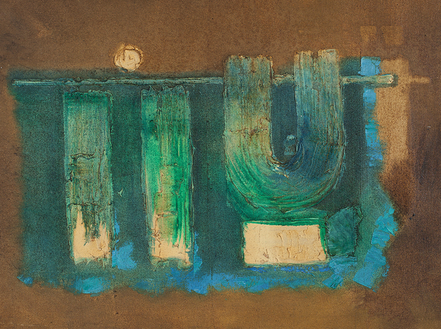 , 'End,' 1963, Jhaveri Contemporary
