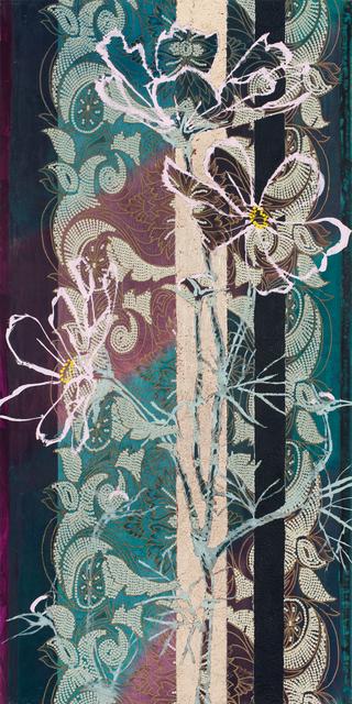 , 'Pink Cosmos Art Nouveau,' 2017, DC Moore Gallery