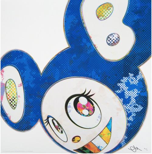 Takashi Murakami, 'And Then (A deep ocean of ultramarine)', Eternity Gallery