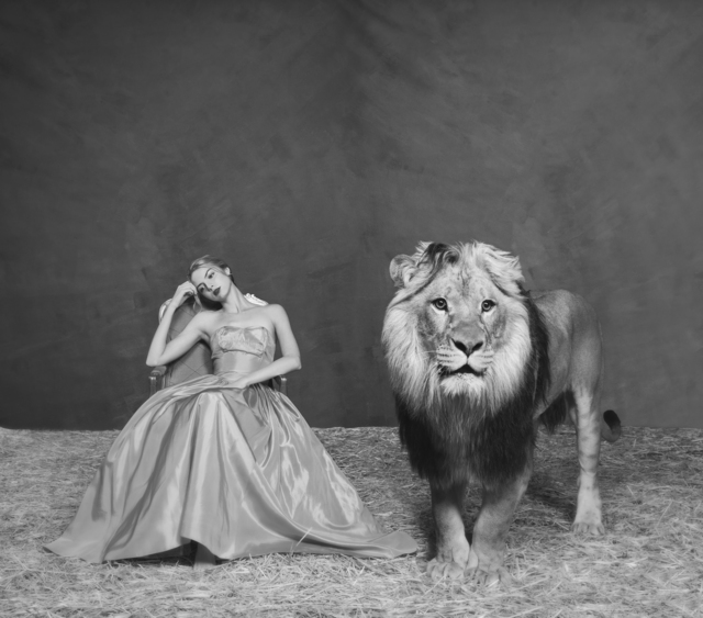 Tyler Shields, 'The Lady and The Lion', 2018, Imitate Modern