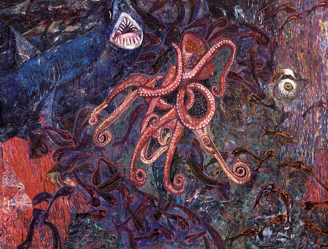 , 'My fear of night diving,' 1985, Pacita Abad Art Estate