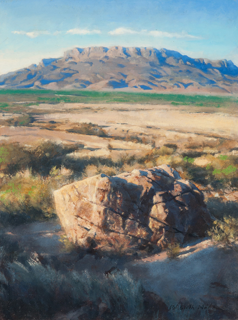 , '9. Mesa and Fallen Stone,' 2017, Valley House Gallery & Sculpture Garden
