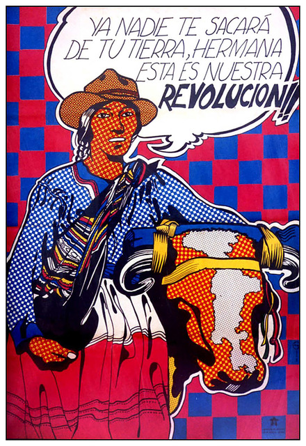 , 'Reforma agraria. Ya nadie te sacará de tu tierra,' 1968 -1973, 80M2 Livia Benavides