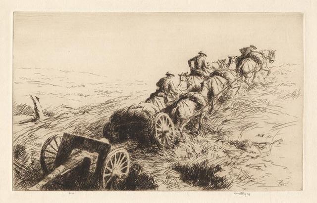 , 'In the Open,' 1927, Osborne Samuel