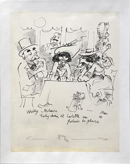 , 'Willy, Polaire, Toby Chien et Colette au Palace de Glace, Circa 1935 ,' ca. 1935, Fairhead Fine Art Limited