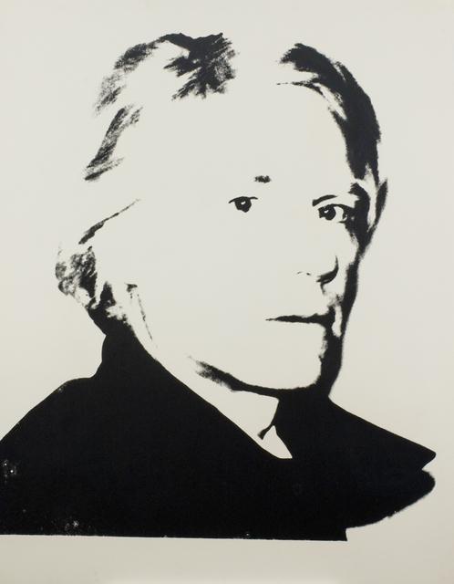 Andy Warhol, 'Self-Portrait', ca. 1977, Ronald Feldman Gallery