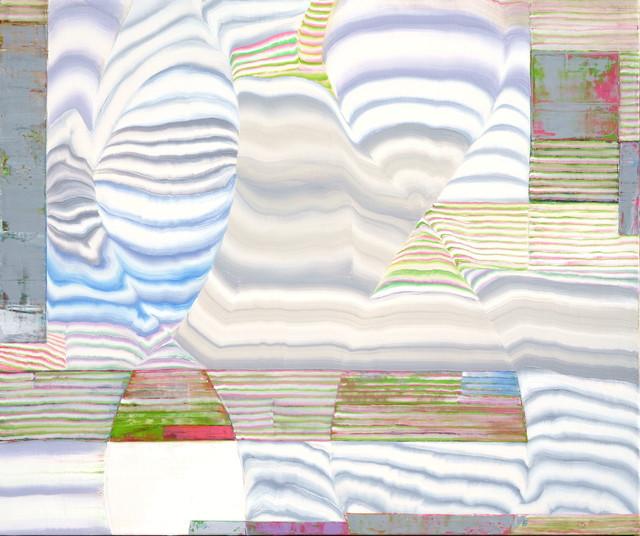 Kim Young Hun, 'p1915-Electronic Nostalgia', 2019, Painting, Oil on linen, Galerie Richard