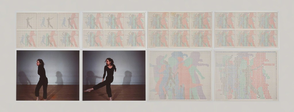 Charles Gaines, 'Motion: Trisha Brown Dance, Set #11,' 1980-1981, Hammer Museum