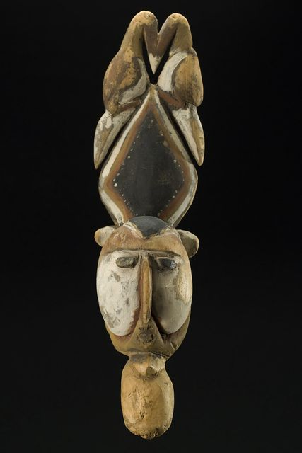 , 'Yam Mask, Abelam People, Wosera subgroup East Sepik Province, PNG Ex: Michael Hamson,' Early to mid 20th C., Cavin Morris Gallery