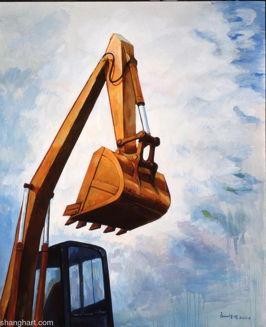 , 'Excavater 挖掘机,' 2011, ShanghART