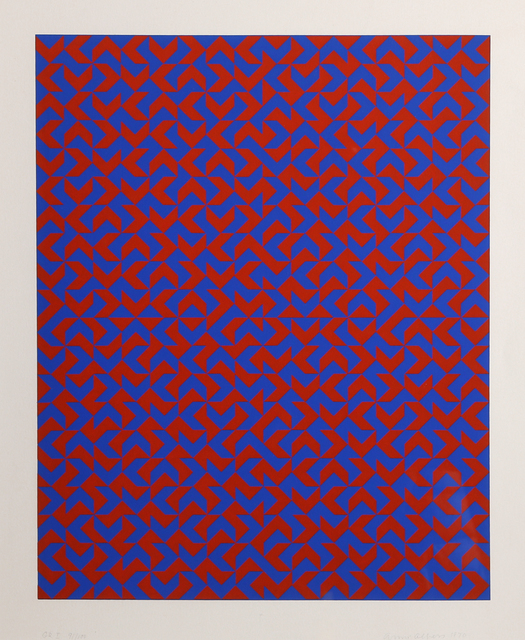 Anni Albers, 'GR I', 1970, RoGallery