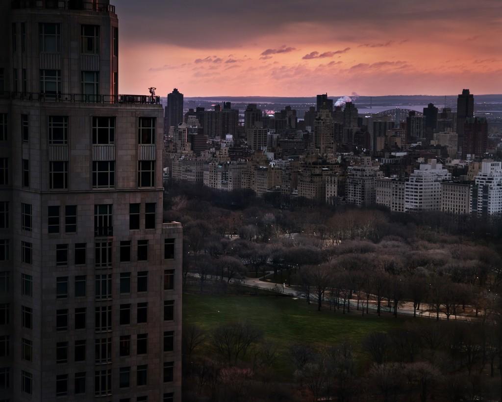 David Drebin, 'Girl Over Central Park', 2012, Photography, Digital C Print, Contessa Gallery