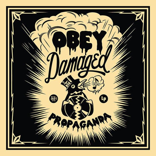 Shepard Fairey (OBEY), '50 Shades of Black Box Set: Damaged ', 2014, Taglialatella Galleries