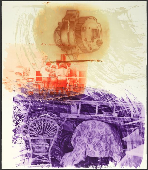 Robert Rauschenberg, 'Back Up (from Ground Rules)', 1997, Chelsea Art Group