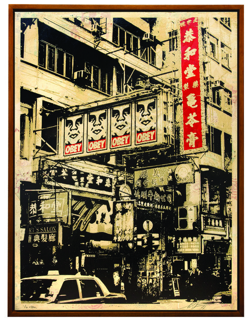 Shepard Fairey (OBEY), 'Hong Kong Visual Disobedience', 2016, Underdogs Gallery