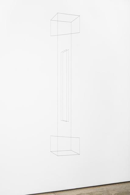 , 'Line Sculpture (column) #5,' 2019, Lora Reynolds Gallery