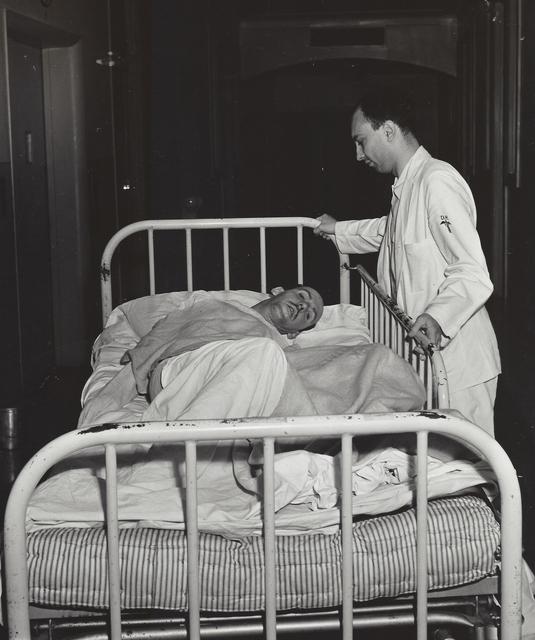 Weegee, 'Untitled (patient in mental ward)', ca. 1950, Elizabeth Houston Gallery