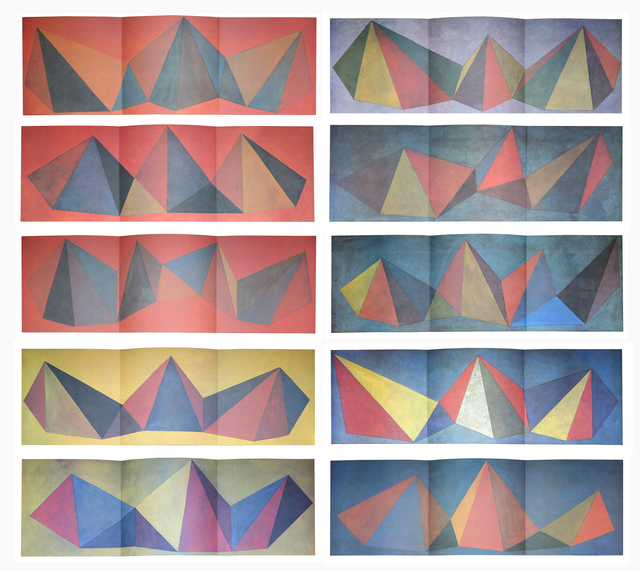 , 'Piramidi,' 1986, Alternate Projects