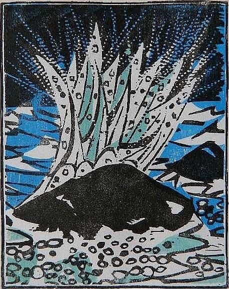 Antonio Frasconi, 'BREAKERS', 1969, Edward T. Pollack Fine Arts