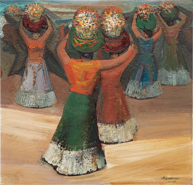 David Alfaro Siqueiros, 'Tehuanas', 1949, Phillips