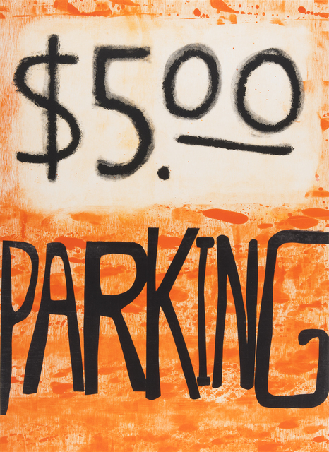 Todd Norsten, '$5.00 Parking', 2017, Highpoint Editions