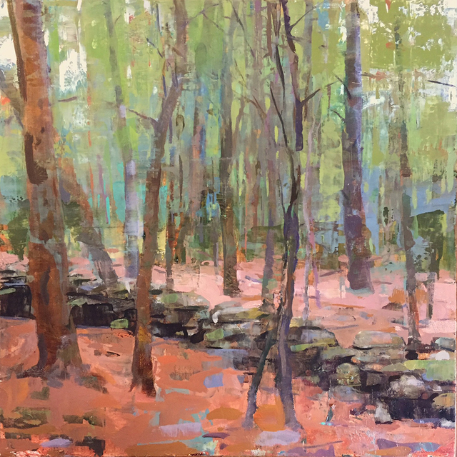 , 'Stone Wall in the Woods,' 2017, Somerville Manning Gallery
