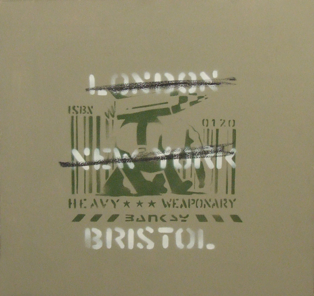 , 'London, New York, Bristol (Heavy Weaponry),' 2000, Andipa