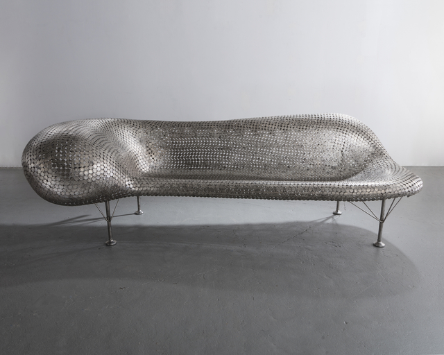 , 'Nickel Couch in welded nickels and stainless steel,' 2006, R & Company