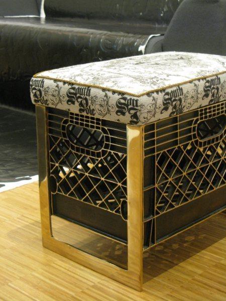 , 'Ottoman,' 2009, moniquemeloche