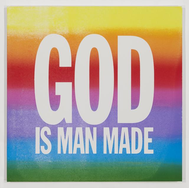 , 'GOD IS MAN MADE,' 2015, Palais de Tokyo