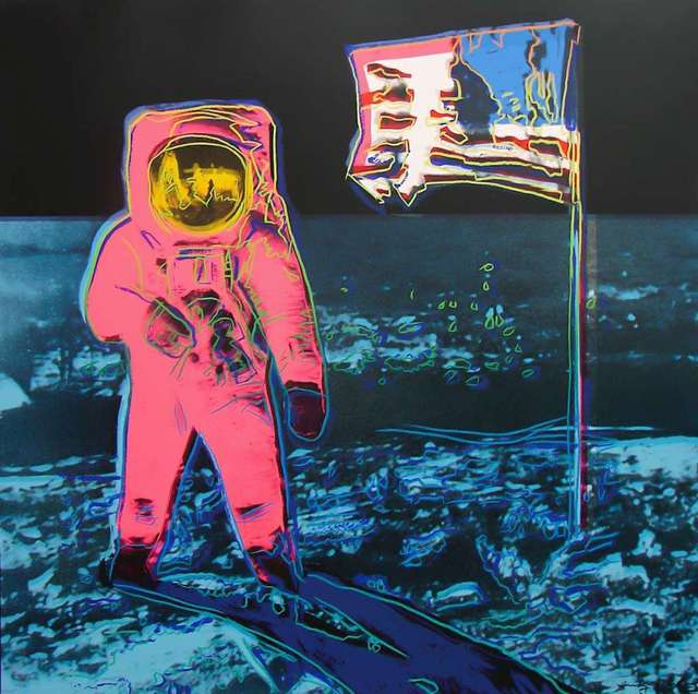 Andy Warhol, 'Moonwalk, Blue and Pink (FS II.405)', 1987, Revolver Gallery
