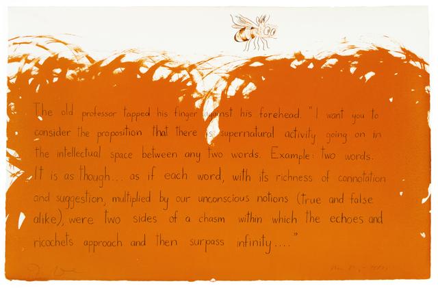 Jim Dine, 'The old professor (Oo La La)', 1970, Petersburg Press