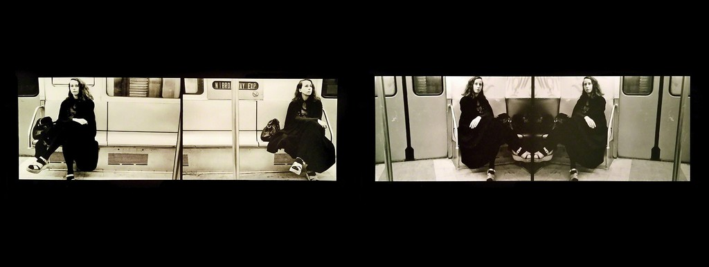 Anna Bella Geiger. Passagens, 1975 Photography  
