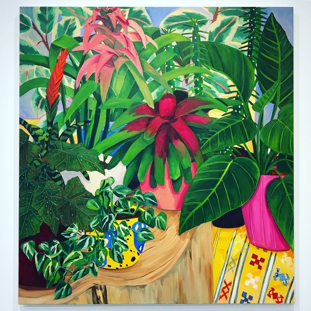 , 'Tropical Study,' 2018, Eleanor Harwood Gallery