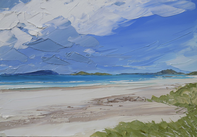 , 'Traigh Mhor, Isle of Barra,' 2017, Thackeray Gallery