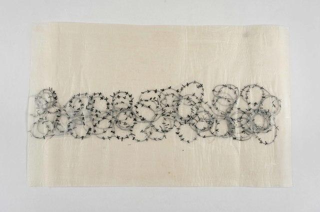 , 'Stacheldraht 2,' 2017, Zilberman Gallery