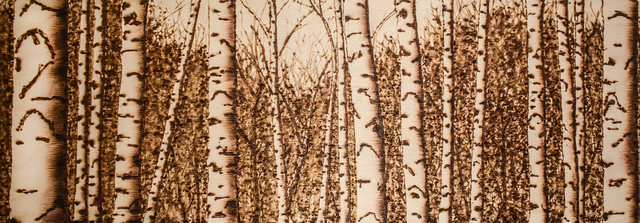 , 'Birches,' 2018, Carrie Haddad Gallery