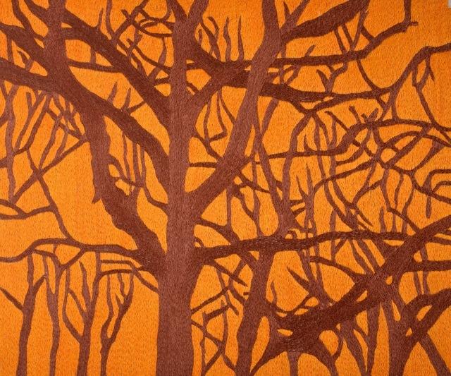 Karine Boulanger, 'Kala', 2015, Textile Arts, Silk on linen embroidery, Spotte Art