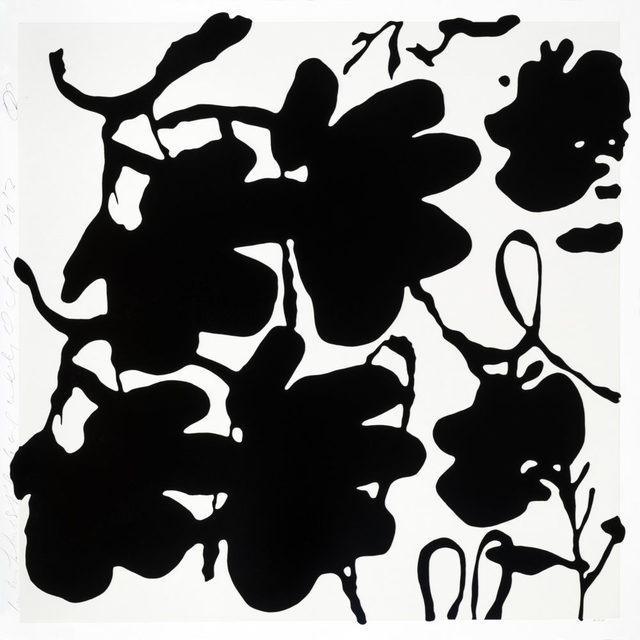 , 'Lantern Flowers (Black and White),' 2017, Maune Contemporary