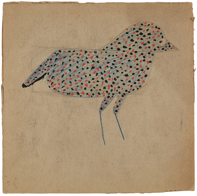 , 'Spotted Black and Red Bird (AKA Blue Spotted Bird),' 1939-1942, Cavin Morris Gallery