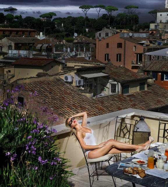 David Drebin, 'Breakfast in Rome', Art Angels