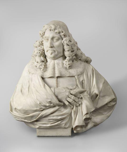 Artus Quellinus I, 'Portrait of Andries de Graeff', 1661, Rijksmuseum